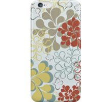 Floral retro pattern iPhone Case/Skin