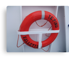 Boat ring Canvas Print