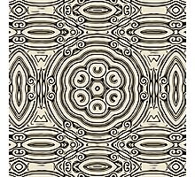 Indian ink pattern, Photographic Print