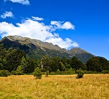 Blue Clear Sky Moutains, HD Photograph by tshirtdesign
