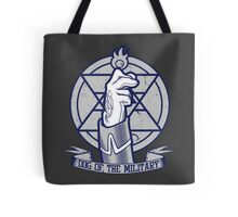 Dog of the Military: Flame Tote Bag