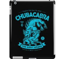 Chubacabra - Cryptids Case file #345 iPad Case/Skin