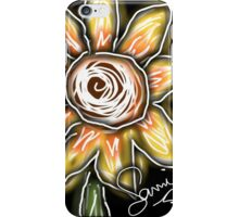 Night of the sunflowers iPhone Case/Skin