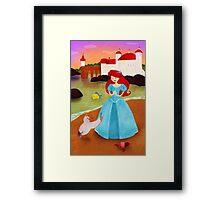 The Little Marmaid Framed Print