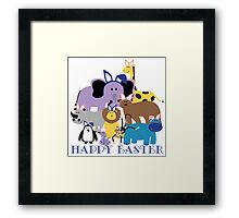 Happy Easter at the Zoo Framed Print