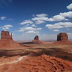 Monument valley by Barbara Burkhardt