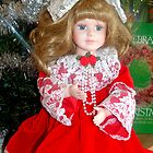 Another Doll from my Christmas collection by Jan  Tribe