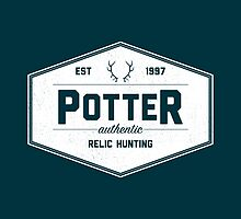 Potter Authentic Relic Hunting by Dorothy Timmer