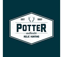 Potter Authentic Relic Hunting Photographic Print