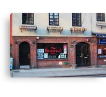 Stonewall Inn. Greenwich Village. Canvas Print