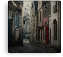 _ vieux quartier _ Canvas Print