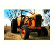 Tractorton Art Print