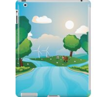 Hills and River 2 iPad Case/Skin