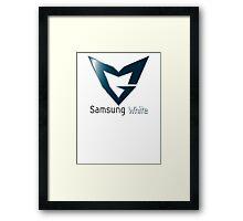 Samsung galaxy  Framed Print