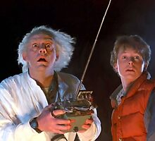 Doc and Marty by ArtworkByTag