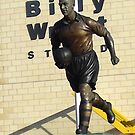 Billy Wright Statue by angelfruit