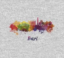 Bari skyline in watercolor Kids Clothes