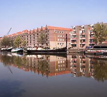 Canal of Amsterdam by Jo Nijenhuis