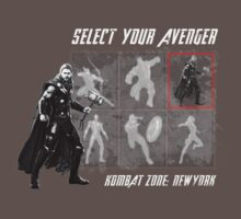 Select Your Avenger by mysteryof