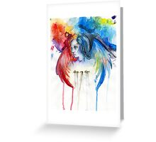 Give Me Love - Watercolor Greeting Card