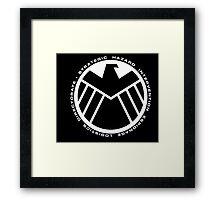 marvel agents of shield Framed Print