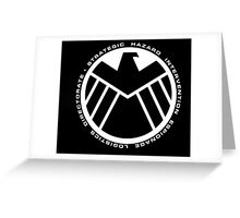 marvel agents of shield Greeting Card