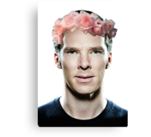Benedict Cumberbatch Khan Canvas Print