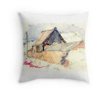 Edgmond Barn Throw Pillow