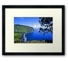 Blue Hawaii Framed Print