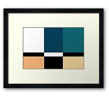 Color Blox 2 Framed Print