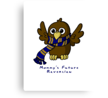 Mommy's Future Ravenclaw Canvas Print