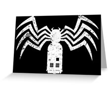 spiderman doctor who Greeting Card