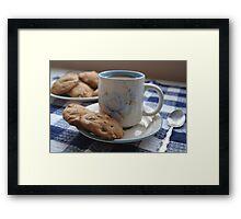 Grandma's Coffee Cookies (still life) Framed Print