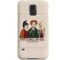 I Put A Spell On You Samsung Galaxy Case/Skin