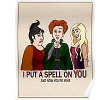 I Put A Spell On You Poster