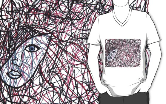 Inside The Mind Of A Woman Tee by shalayne