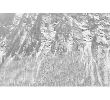 skin of the moutain Photographic Print
