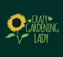 Crazy Gardening Lady T-Shirt