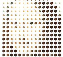 Mona Lisa Dots by Ross Robinson