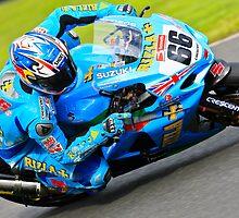 Tom Sykes, British Superbikes, Croft Circuit, 2008 by RHarbron