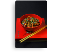 Chinese Meal  Canvas Print