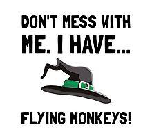 Flying Monkeys Photographic Print