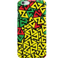 CASCADE RASTA iPhone Case/Skin