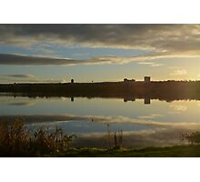 Sunset over Loch 1 Photographic Print