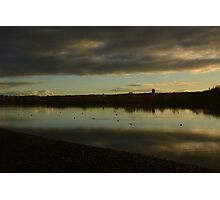 Sunset over Loch 2 Photographic Print