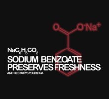 Sodium Benzoate preserves freshness by Siegeworks .