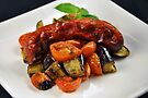 Chorizo Sausage With Roasted Vegetables  by EOS20
