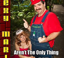 SexyMario MEME - Fire Flowers Aren't The Only Thing I Like To Eat! by SexyMario