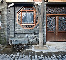 Picturesque chinese facade by dominiquelandau