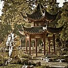Chinese Garden by boehmgraphics